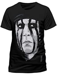 The Lone Ranger Tonto Face- men's black tee (X-Large)