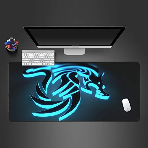 Mauspad Gummi Sperre Seite Spieler Computer Tastatur professionelle Mauspad 900x400x2 (Minion Computer-tastatur)