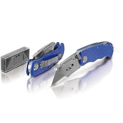 1 x Erba Cuttermesser Teppichmesser Messer mit Klappfunktion + 5 Klingen 33044 von Erba bei TapetenShop