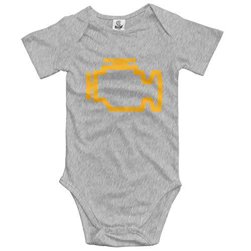 dy Kurzarm Engine Light Newborn Bodysuits Baumwolle Strampler Outfit Set ()