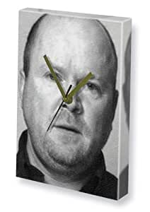 STEVE McFADDEN - Canvas Clock (A5 - Signed by the Artist) #js002