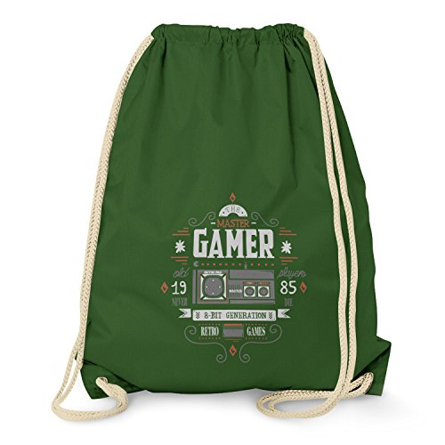 TEXLAB The Master Gamer - Turnbeutel, dunkelgrün