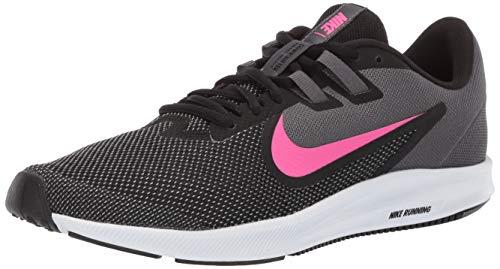 Nike Damen WMNS Downshifter 9 Leichtathletikschuhe, Mehrfarbig (Black/Laser Fuchsia/Dark Grey/White 000), 38.5 EU