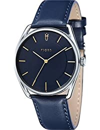 Fjord Analog Blue Dial Men's Watch - FJ-3022-03