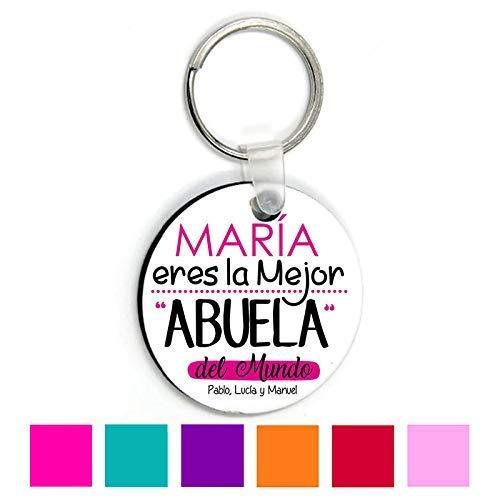 Llavero Abuela/Personalizado/Regalo Original Abuelita/Cumpleaños/Dia