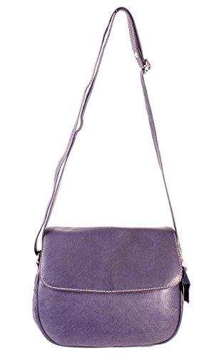 Oxbridge Satchel Shop , Sac à main porté au dos pour femme violet petit