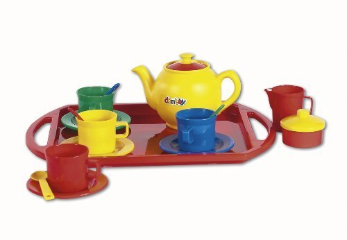Tea set with tray 18-piece (4335) by dantoy a/s