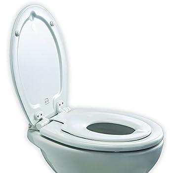 Homfa abattant wc avec frein de chute r duction du bruit lunette de toilette avec familial si ge - Abattant wc avec reducteur integre ...