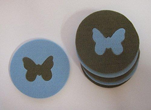 FILZ Schmetterling Glasuntersetzer Untersetzer