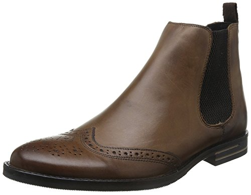 Base London ,  Herren Desert Boots Burnished Tan
