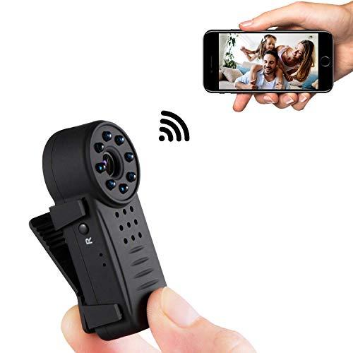 CAIVEN Mini Kamera Spy Cam Bewegungserkennung WiFi mit Videoaufnahme und Audioaufnahme