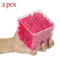 Fun BrainGame Challenge Fidget Toys Hand Game Case Box 3D Cube Puzzle Maze ToyDescriptions:Ideal intelligentdevelopment toyMaterial:Environmentfriendly ABS plasticYou can enjoy playingwith this piggy bank when you feel bored.It is perfect for anyocca...