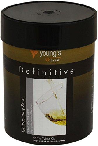 Definitive Chardonnay stile bottiglia di vino home Brew 6Kit