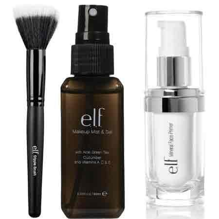 elf Studio Mineral Infused Face Primer With Makeup Mist and Set, Clear, 2.02 ... by e.l.f. Cosmetics