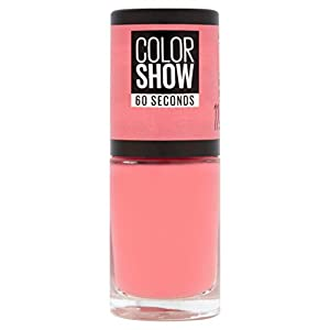 Maybelline Color Show 11 From NY with Love Rosa esmalte de uñas – Esmaltes de uñas (Rosa, From NY with Love, Botella, 25…