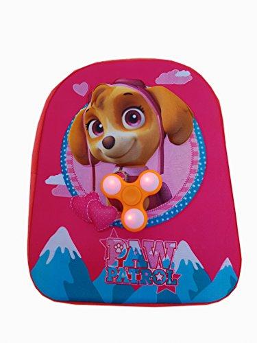 Imagen de  3d patrulla canina para niña y niño 31cm paw patrol + spinner con luz de regalo niña