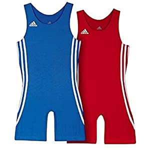 adidas Wrestling Twin Pack Kids 059473 air force blue/light scarlet (XS)