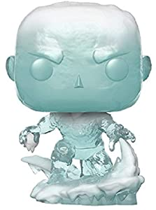 Funko Pop Bobble Vinyle Marvel: 80th-First Appearance-Iceman Figura Coleccionable, Multicolor (40717)