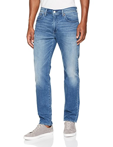 Levi's 502 regular taper jeans straight uomo, blu (cold air balloon 0173) w31/l34 (taglia produttore: 31/34)