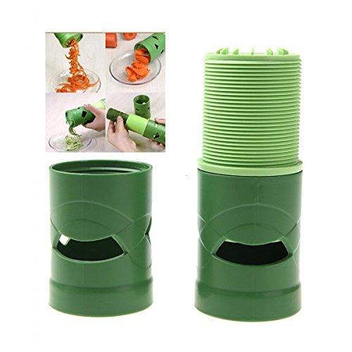 Twister Cutter (Kompaktes Gemüse Obst Twister Spirale Cutter Schneide Küchenutensilien Verarbeitung Gerät Küche Werkzeug)