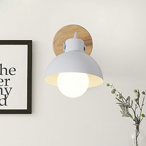 TOTO- American-vie à la campagne chambre mur de chevet de la chambre de fer lampe couloir couloir d'entrée simplicité nordique lampe de mur de tête unique