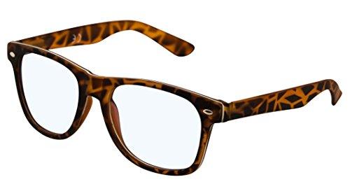 4sold Rubi Damen Herren Lesebrille +0.50 +0.75 +1.0 +1.5 +2.0 +2.5 Blaufilterbrille Blaues Licht und UV Schutzbrille Bildschirmbrille fortgeschrittene Gamer Gamingbrille Computerbrille Black (Panther, 1.00)