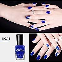 OU LI SI 8ml 40Colors Nail Polish Paint Peelable Water Based Manicure Glue Quick Drying Beauty Nail Art Tools