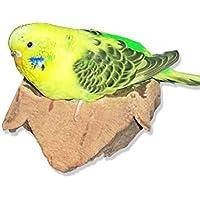 """'corcho Tabla de asiento """"S. sensationelles akku-knabber de pájaro juguete. Ideal vogelzub ehör para el Pájaro jaula para Periquito y Co."""