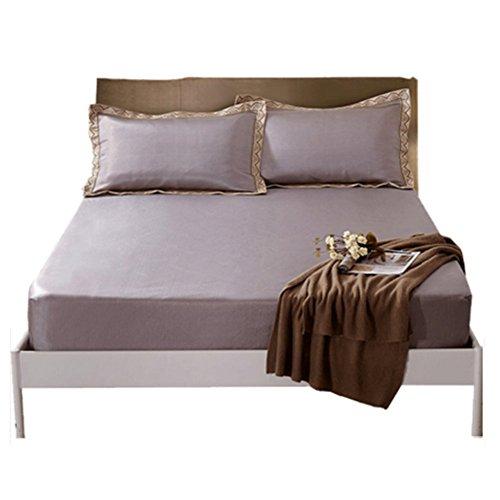 LSS Eis Seide Bett Matratze Pad Verdickung Sommer Matte Dreiteilige Falten Klimaanlage Bett Abdeckung-Typ - Kissen-abdeckungen Gesteppte Baumwolle