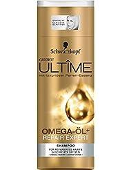 Schawrzkopf essence ULTÎME Shampoo Omega-Öl+ Repair Expert 3er pack
