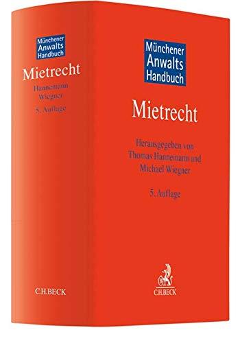 Münchener Anwaltshandbuch Mietrecht