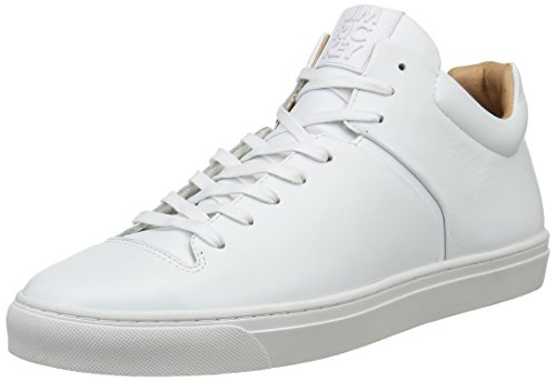 Jim Rickey Herren Cloud Mid Sneakers, Blanc (JRF16071A), 45 EU