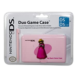 Nintendo DS Lite – Duo Game Case + Stylus, Prinzessin Peach