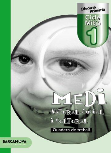 Medi natural, social i cultural 1 CM. Quadern de treball - 9788448922306