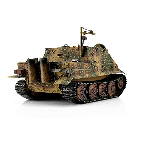RC Kettenfahrzeug kaufen Kettenfahrzeug Bild 1: Torro 3819-I - Sturmtiger Panzer mit Metallunterwanne IR, hinterhalt tarnlackierung*