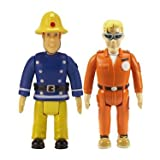 Feuerwehrmann Sam Action Figuren 2er Pack - Sam und Tom [UK Import]