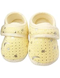 3a56b3db8e1c Minshao Starry Sky Printed Toddler Anti-Slip Soft Baby Shoes For 0~18 Month