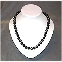 Schungit Halskette silber, 55cm, 90g, poliert, mit ZERTIFIKAT! preisvergleich bei billige-tabletten.eu