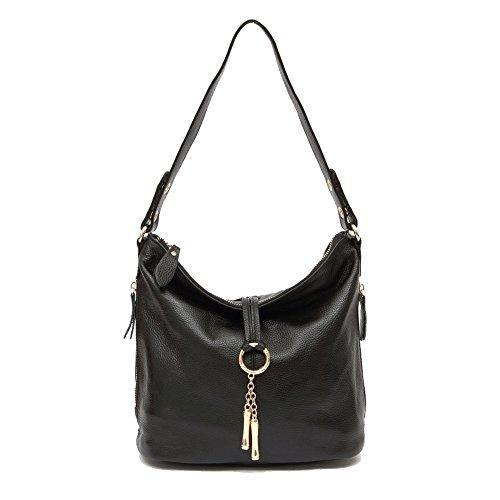 La versione coreana di borse a spalla/ casual borsa a tracolla con frange/ sacchetto diagonale mobile-E E