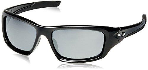 Oakley Herren Sonnenbrille Valve Polished Black Iridium (S3), 60