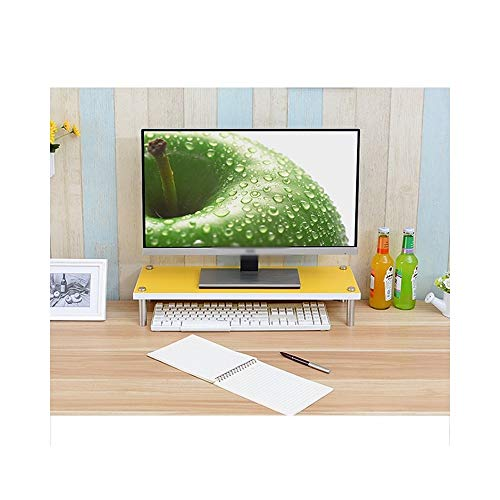 KXBYMX Computer-Bildschirm zur Erhöhung der Halterung, Schreibtisch Lagerregal Lagerregal (Farbe : 6#)