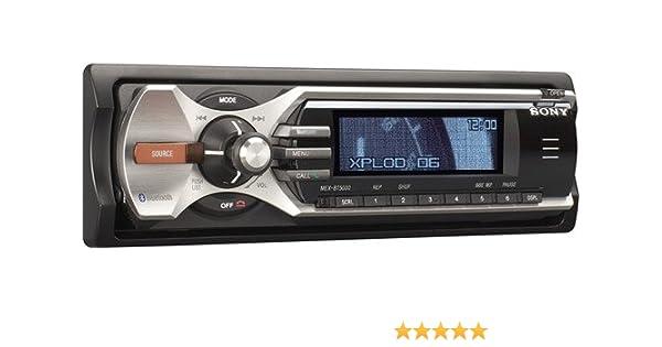 Sony mex bt5000 car audio cd tuner amazon electronics publicscrutiny Image collections