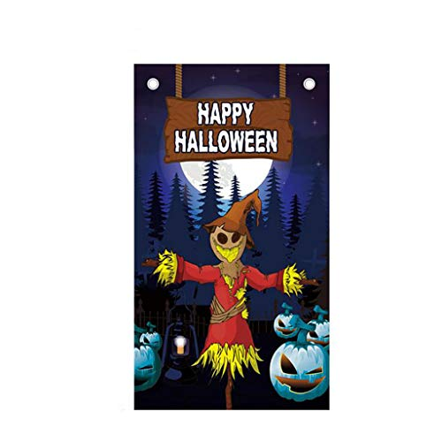 Ears Halloween Hintergrund hängen Flagge Dekoration Hintergrund Poster Bar Party Kino Hintergrund hängen Flagge