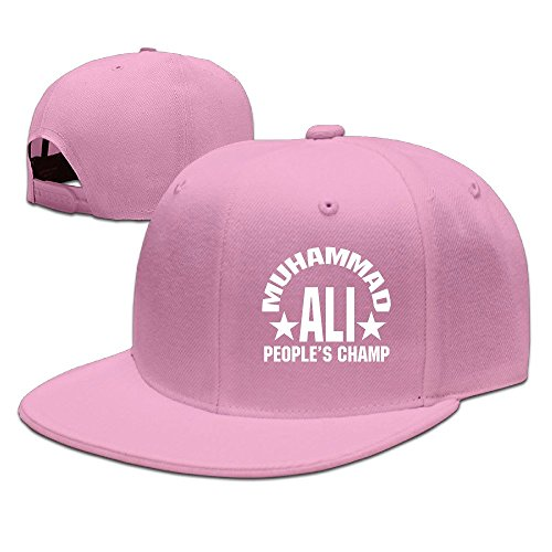 Maneg Muhammad Ali unisex moda Cool regolabile snapback, cappello taglia unica, unisex, Pink, Taglia unica