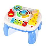 Best Toys For 6 Month Old Girls - Musical Learning Table Baby Toys 6 to12 Months Review