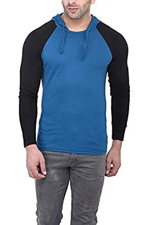 Zembo_Men's Cotton Hoodie Full Sleeve T-Shirt