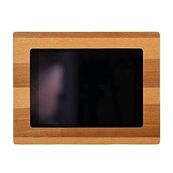 NobleFrames Tablet Wandhalterung für iPad Air1/2, iPad 5, iPad 6 und iPad Pro 9,7″ aus Kernesche