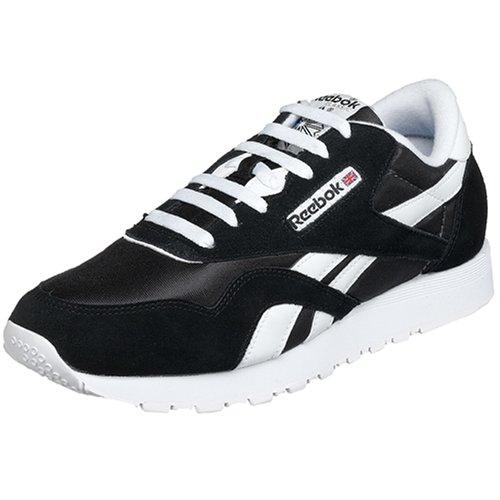 reebok-classic-nylon-herren-sneakers-schwarz-black-white-46-eu-115-erwachsene-uk