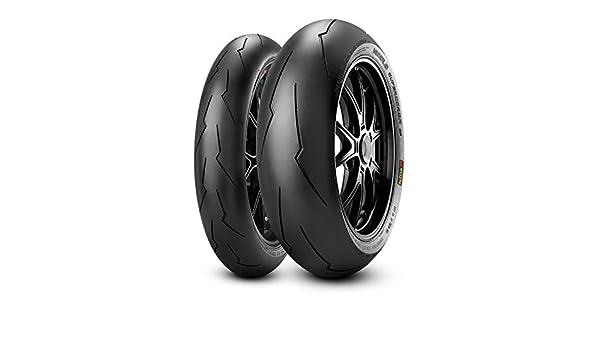 Diablo Supercorsa V2 SP FrontM//C Motorradreifen 58W Pirelli 120//70 ZR17