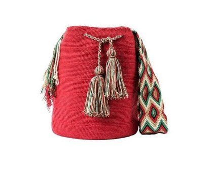 Gota Agua accesorize Bolso Wayuu hecho mano mujeres